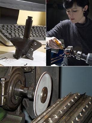 Herstellung, Reparatur von Werkzeugen für die Holz, Kunststoff, Metallbearbeitung, Region Zlin, die Tschechische Republik