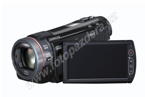 Nabízíme vám kamery značek Panasonic a Sony.