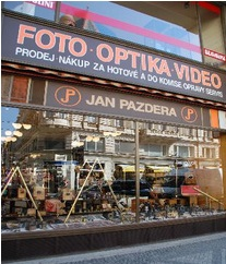 Naši prodejnu najdete v centru města Praha.