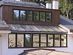 solární dřevohliníková okna s trojsklem Praha