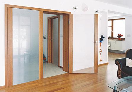 Interiérové dveře celoskleněné Brno