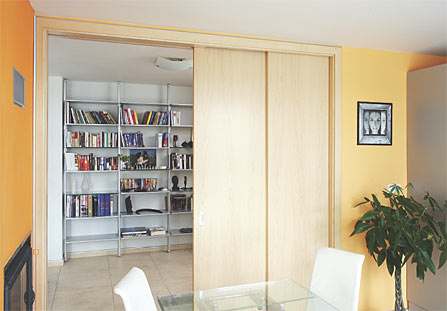 Interiérové posuvné dveře Brno