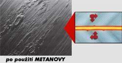 po použití Metanovy, Brno