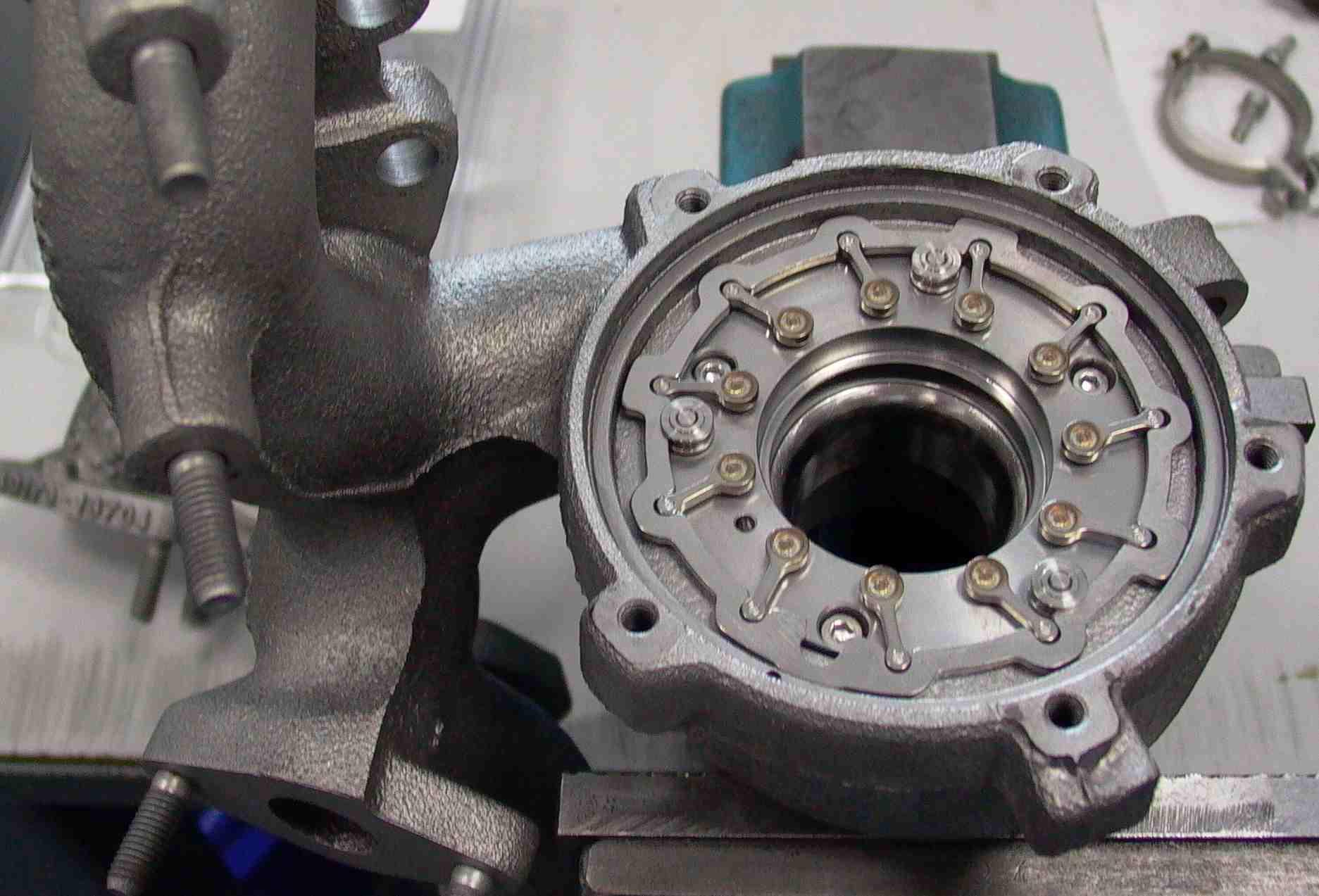 Turbodmychadla, turbokompresory - Schenck, TB comfort, TB sonio, repase, vyvažování