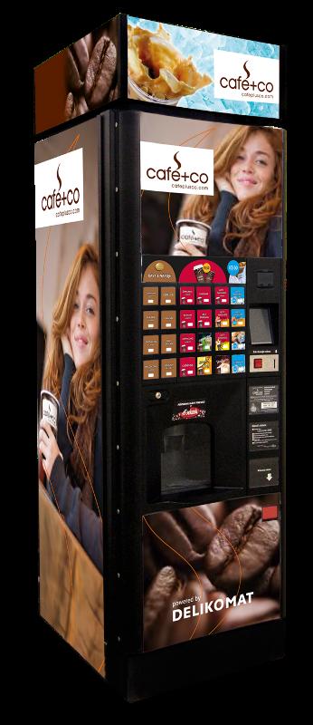ICE GO, automat na ledovou kávu