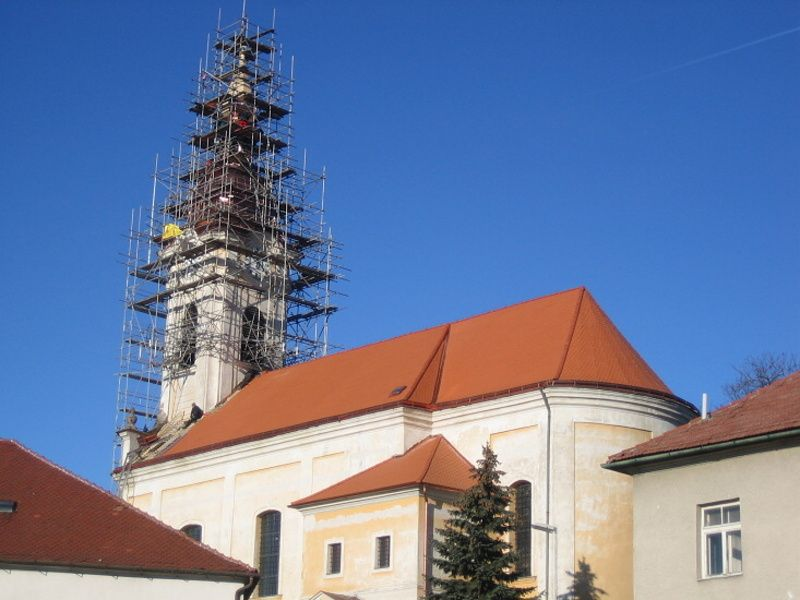 Opravy krovů a replik Jihlava