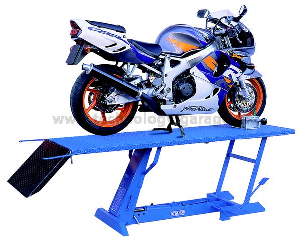 Motocyklový zvedák s hydraulikou