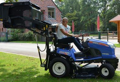 Malotraktory a traktorové sekačky ISEKI – prodej a servis Děčín