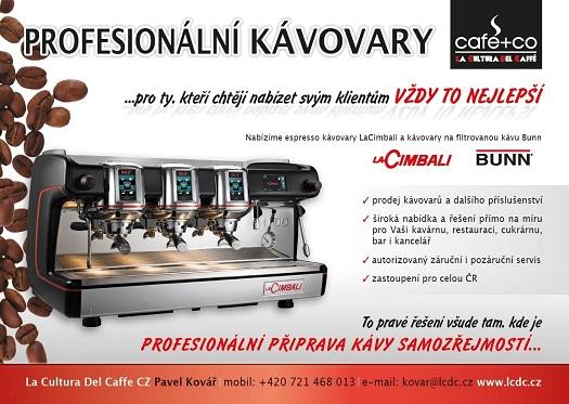 Profi kávovary
