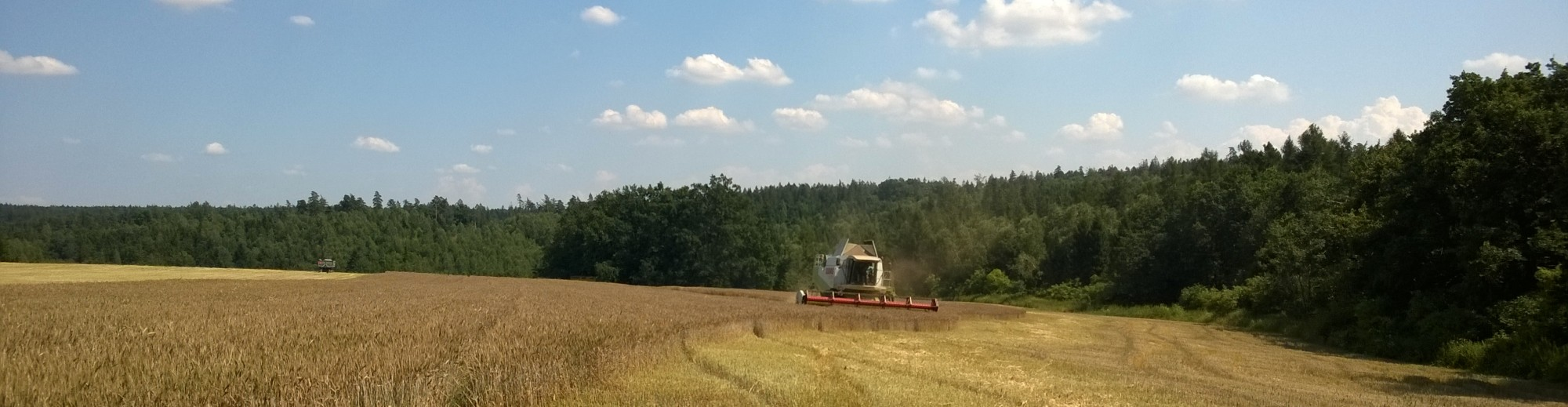 Rostlinná a živočišná výroba, sklizňové práce