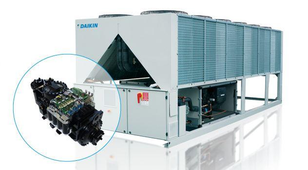 Vzduchem chlazená chladící jednotka EWAD-TZ