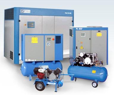 Kompresory i další technika stlačeného vzduchu TECHNO – AIR