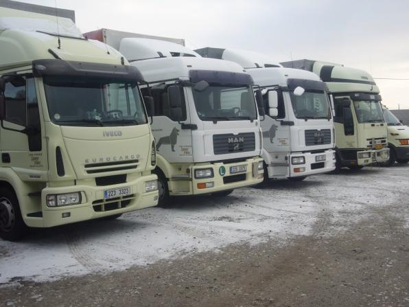 Internationaler Güterverkehr, Spedition, Region Zlin, Tschechien