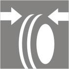 Kontrola geometrie nápravy, kol, u nákladního vozidla Praha 10, 9