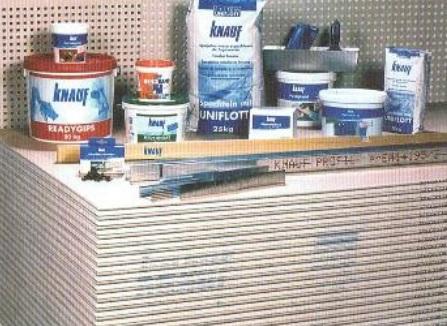 kvalitní produkty KNAUF