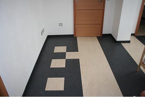 podlaha rodinného domu v České Třebové