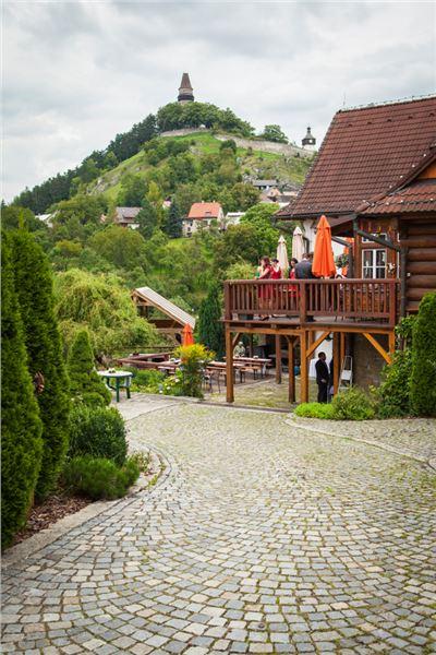 romantická svatba ve Štramberku