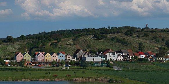 Ubytování na hotelu Kraví hora Bořetice, vinice na Jižní Moravě