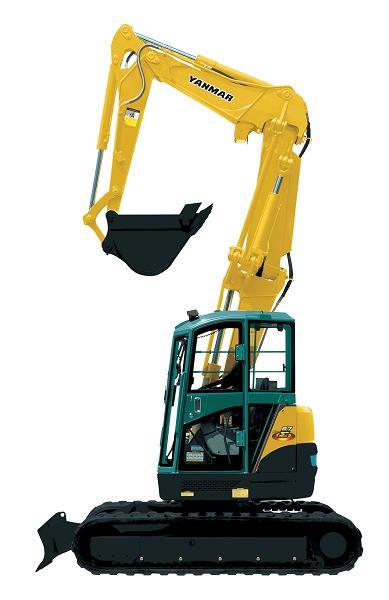 Rypadla a minirypadla YANMAR, prodej a půjčovna stavebních strojů