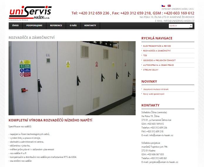 Pro více informací se podívejte na náš web
