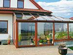 Zimní zahrada na míru - navržená jako přístavba domu
