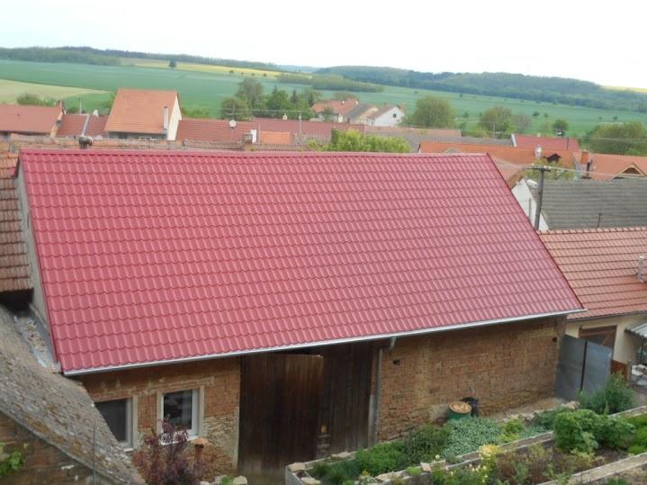 Rekonstrukce střech, klempířské práce, oplechování Znojmo
