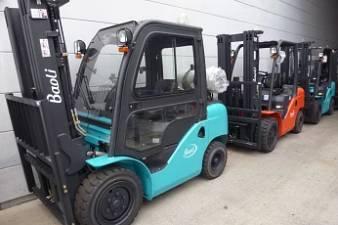 Servis, repase, opravy vysokozdvižných vozíků - kvalitní servisní služby