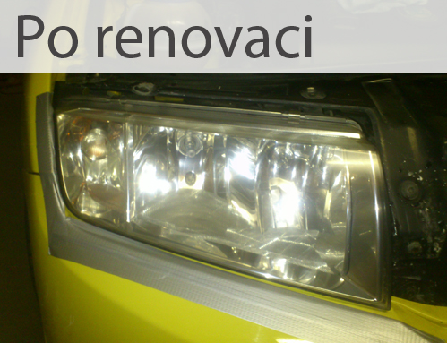 po renovaci světel, Brno