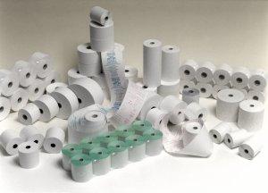 Papírové kotoučky do pokladen