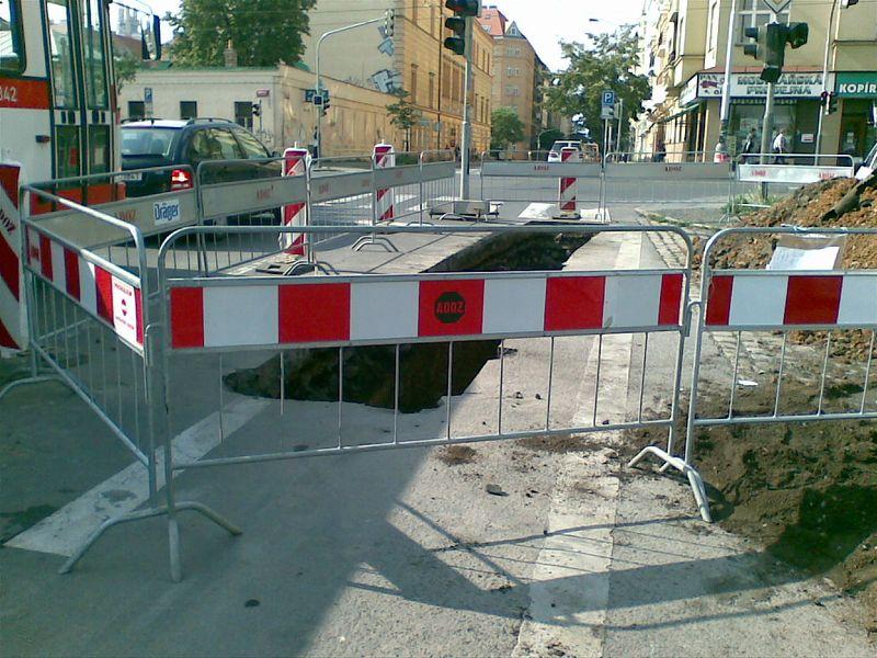 Stavba plynovodů, kanalizací a vodovodů Kolín