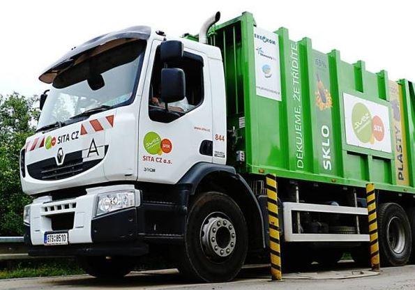sběr, recyklace tříděného odpadu