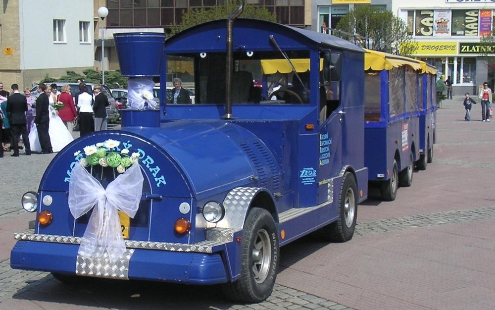 Svatební vláček - jízda vláčkem Zlín