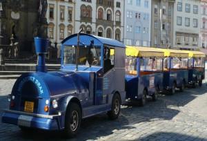 Pronájem vláčku - autovláček Zlín, Olomouc
