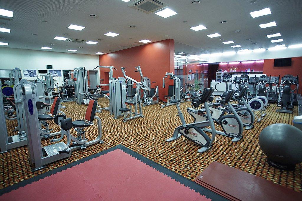 Cvičení ve fitness zóně