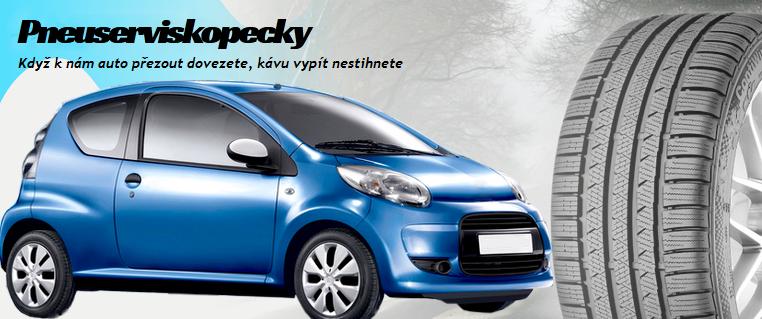 Přezouvání pneu, výměna, oprava pneumatik, pneuservis Ostrava
