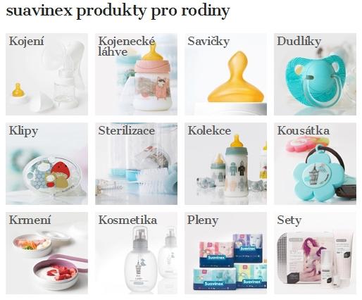 Dětské, kojenecké potřeby, kosmetika pro děti Suavinex
