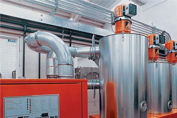 Stavebnicový potrubní systém - ideální pro tekutý i sypký materiál, vzduchotechnika
