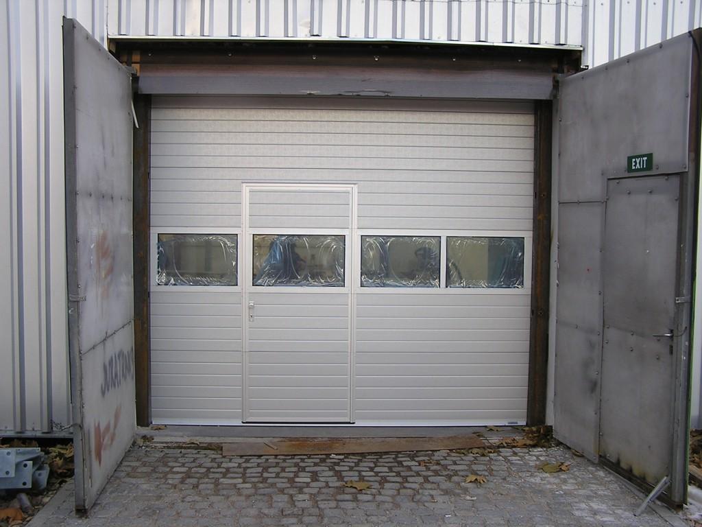 Montáž garážových vrat Zlín