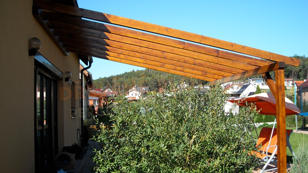 Dřevěné pergoly vyrábíme v obci Dolní Přím.