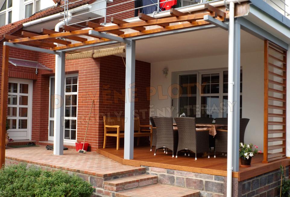 Dřevěné terasy ocení i vaše rodina