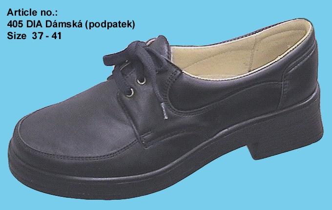 Dia obuv, zdravotní boty pro diabetiky - proti otlakům a drobným poraněním