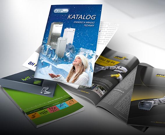Tisk katalogů, letáků a brožur Frýdek-Místek