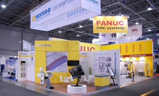 Komplexní servis výstavních expozic od výroby po realizaci - veletržní grafika