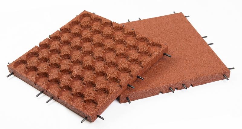 Prodej a instalace pryžové dlažby