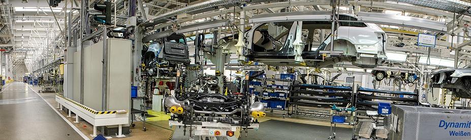 Montážní linky, přípravky, automatické systémy pro automobilový průmysl