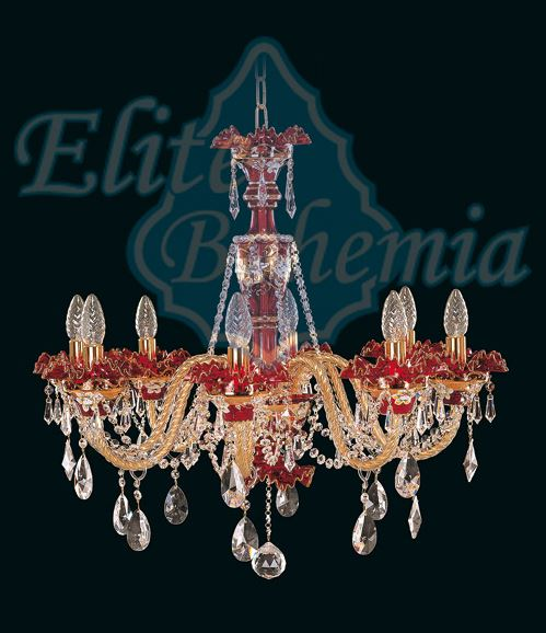Crystal chandeliers Elite Bohemia the Czech Republic