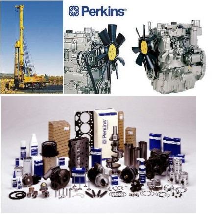 Nabízíme naftové a plynové motory Perkins.