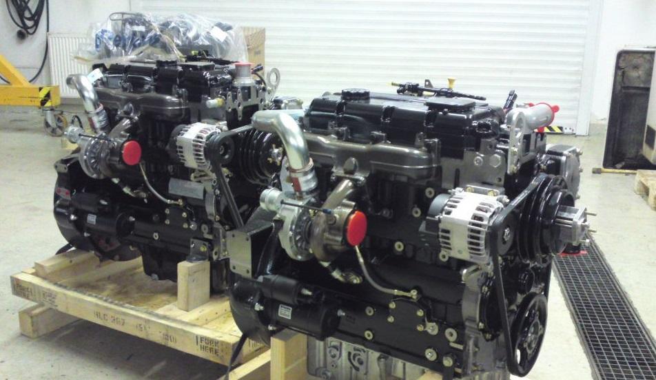 Motory Perkins jsou spolehlivé a dlouho vydrží.