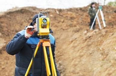 Geodetické práce, vytyčení pozemku a zápis do katastru - Louny