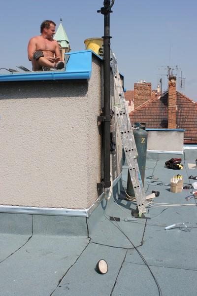 Opravy střešních krytin Plzeň